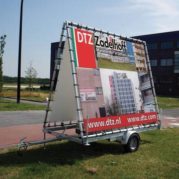 Banner for Mobile Promotional Hanger