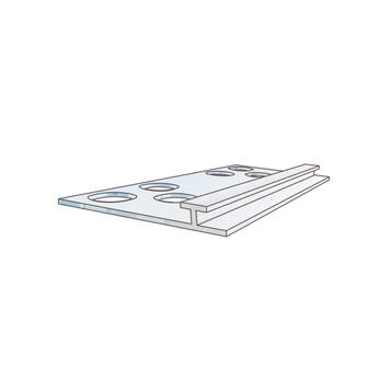 """Divider Profile """"PEK 30"""" with Cutouts"""
