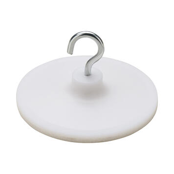 White Adhesive Hook with Metal Hook