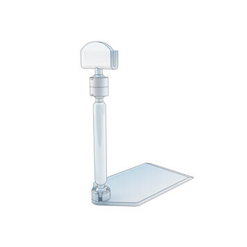 "Tall Price Holder ""Sign Clip"" with Base"