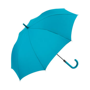Fashion Automatic Umbrella with Coloured Round Handle and Top