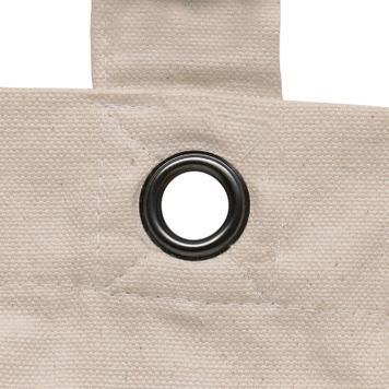 "Cotton Bag ""Macau"" mwith short handles"
