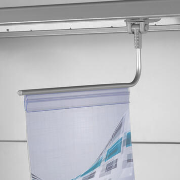 Magnetic Banner Holder with Clamp Profile