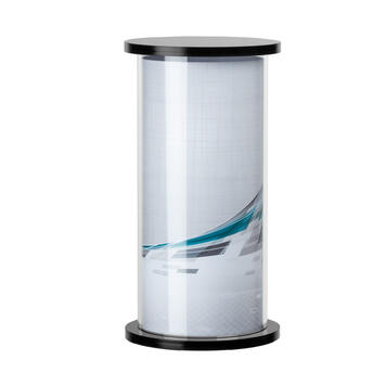 "Acrylic Display ""Advertising Column"""