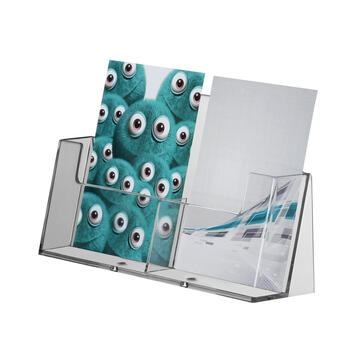 "Double Leaflet Dispenser ""Spree"" A6"