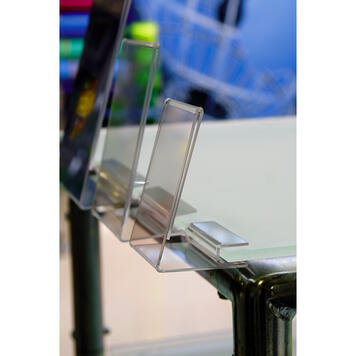 """Nardus"" Sign Holder for Shelves"