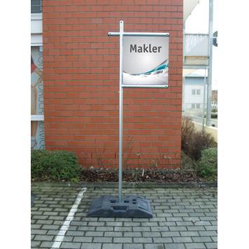 "Banner Frame Slot System Steel ""Broker"""