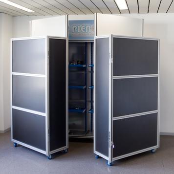 "Exhibition Stand ""Centre-Shop Quattro"""