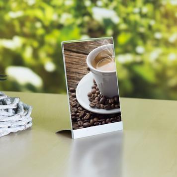 "Menu Card Holder ""Taxus"" in standard paper sizes"
