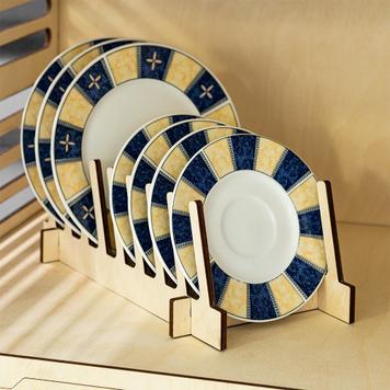 8-fold Plate Rack / Presentation Display