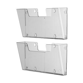"4-Section Leaflet Holder ""Multi"""