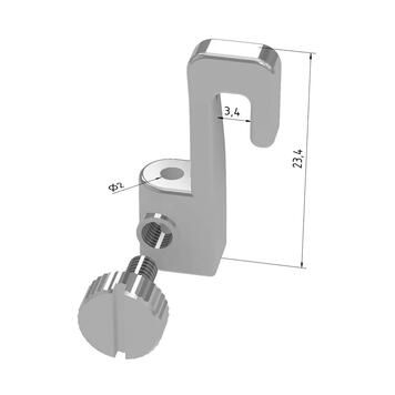 """Picture Hook """"Mini"""" for Picture Rail """"Eco"""""""