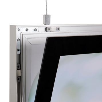 "LED Light Frame ""Ecomag"", double-sided"