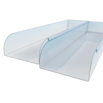 Shelf Divider with Connector Bracket