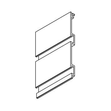 FlexiSlot® Profile in custom length