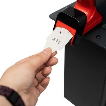 Ticket Dispenser for Barrier Stands