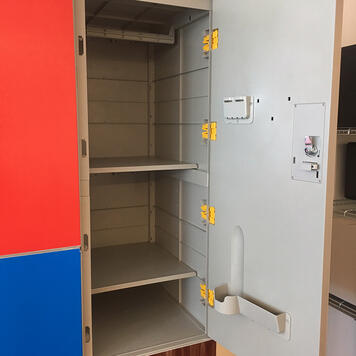 "Locker Cabinet ""Twin"""