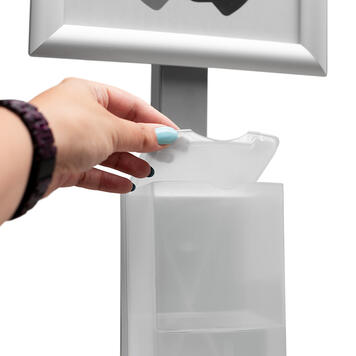 """Hygiene Stand """"Sensor-Steel"""""""